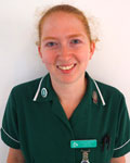 Kate Tarrant, nurse at Clifton Villa Veterinary Surgery