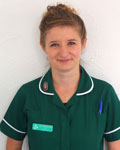 Molly Beardsley, nurse at Clifton Villa Veterinary Surgery