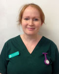 Jenna Pascoe, nurse at Clifton Villa Veterinary Surgery