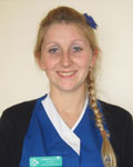 Gemma Singleton, nurse at Clifton Villa Veterinary Surgery